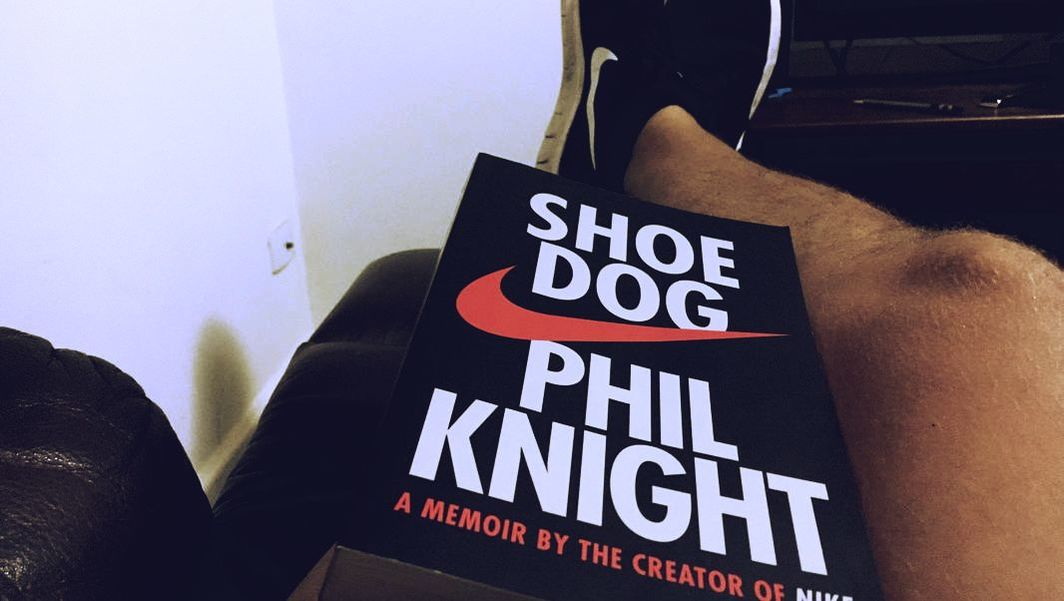Josh reid jones book review shoe dog